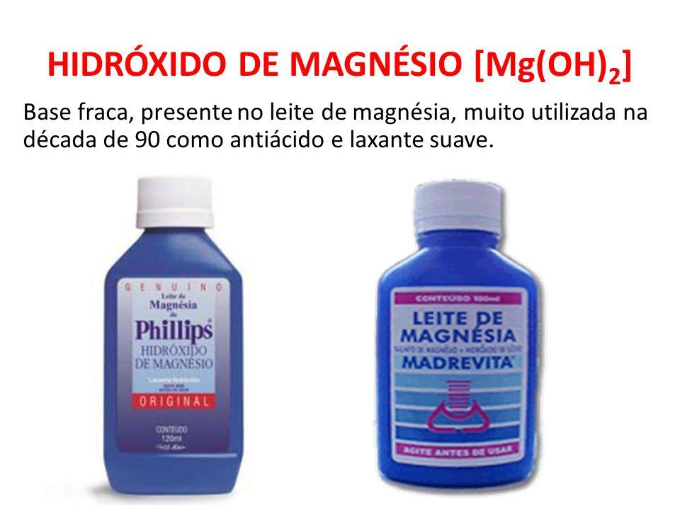 HIDRÓXIDO DE MAGNÉSIO [Mg(OH)2]